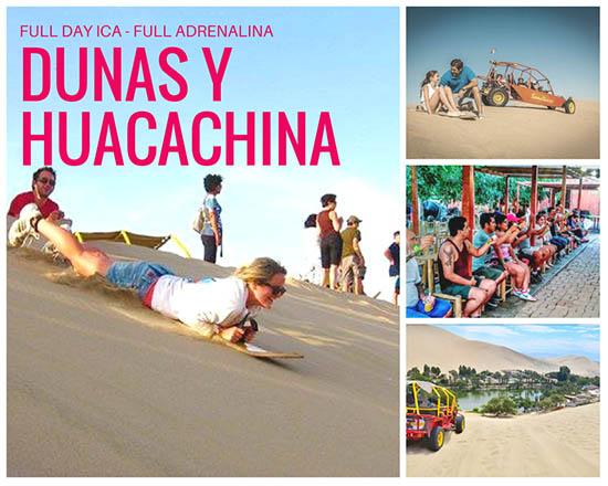 Lo mejor del tour full Day Ica Dunas del descierto huacachina vitivinícola degustación de vinos 2018