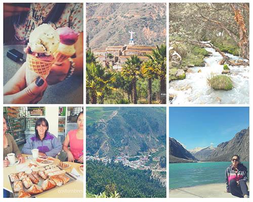 Tour a huaraz día 1 con Incas Viajes y turismo visitamos helados artesanales laguna de llanganuco caraz taricay campo santode yungay
