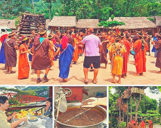 Visita a Comunidad nativa Ashaninca y procesadora de cafe en Chanchamayo 2018