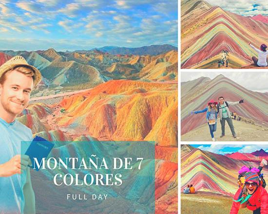tour 1 día en la montaña 7 colores